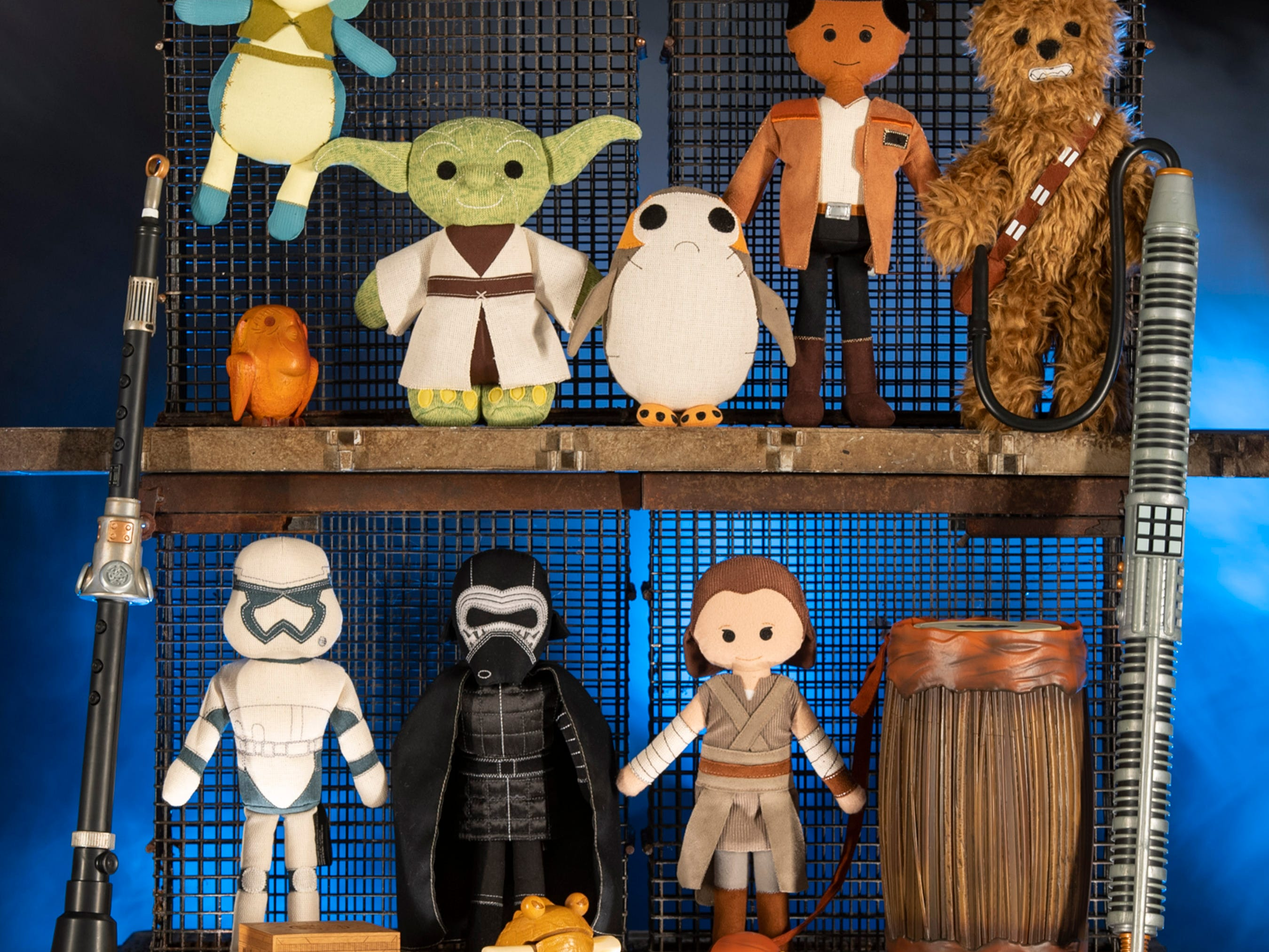 The Toydarian Toymaker stall in Star Wars: Galaxy's Edge will feature an assortment of artisan-style plush characters, wood and tin toys and musical instruments.