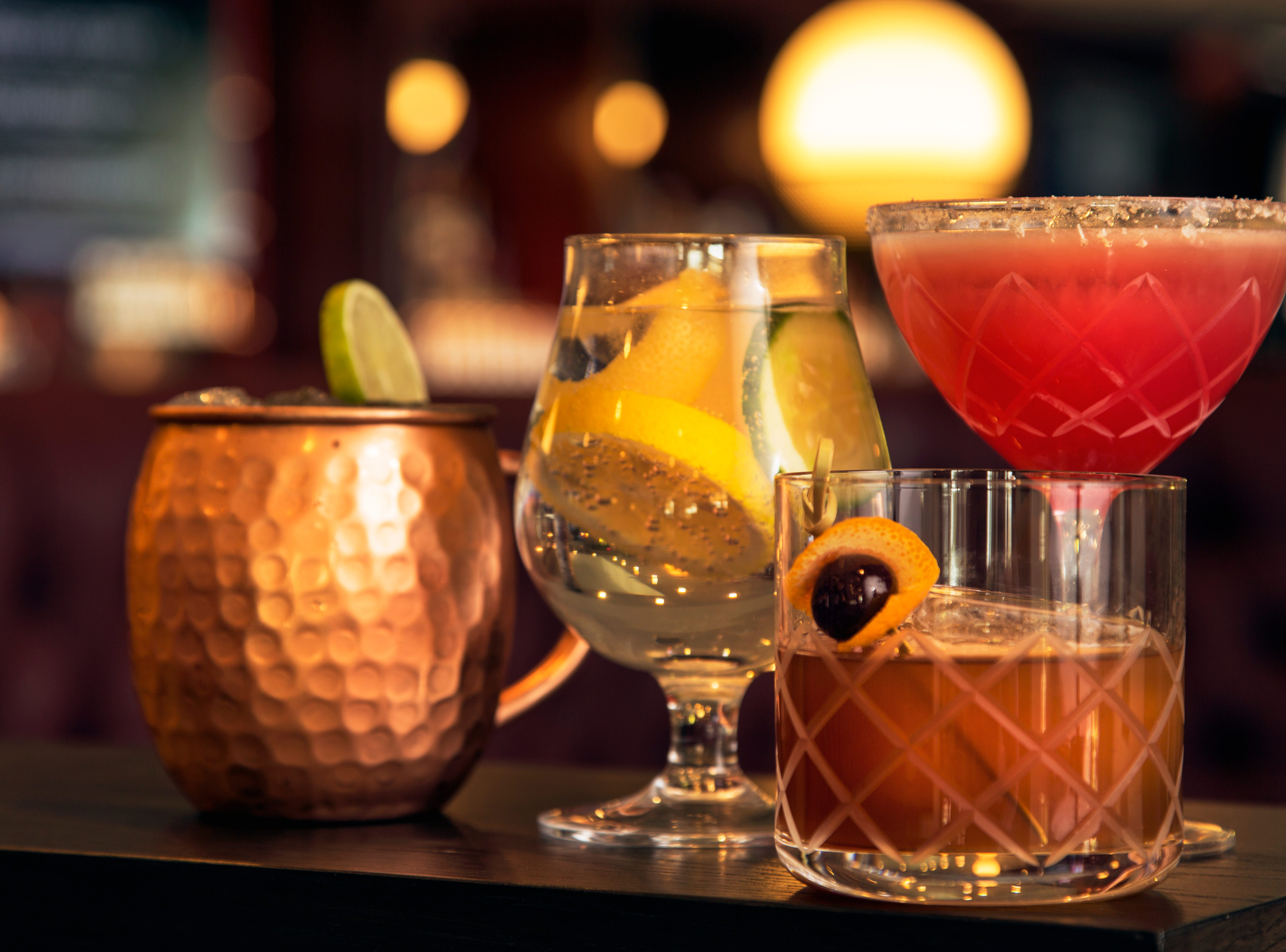 The Tavern will serve up happy hour daily between 3:00 p.m. and 6:00 p.m.,  $4 drink specials, featuring $4 beer, $4 wine, $4 margaritas and $4 mules.
