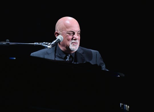 Billy Joel In Concert - New York, New York at Madison Square Garden on April 14, 2017 in New York City.