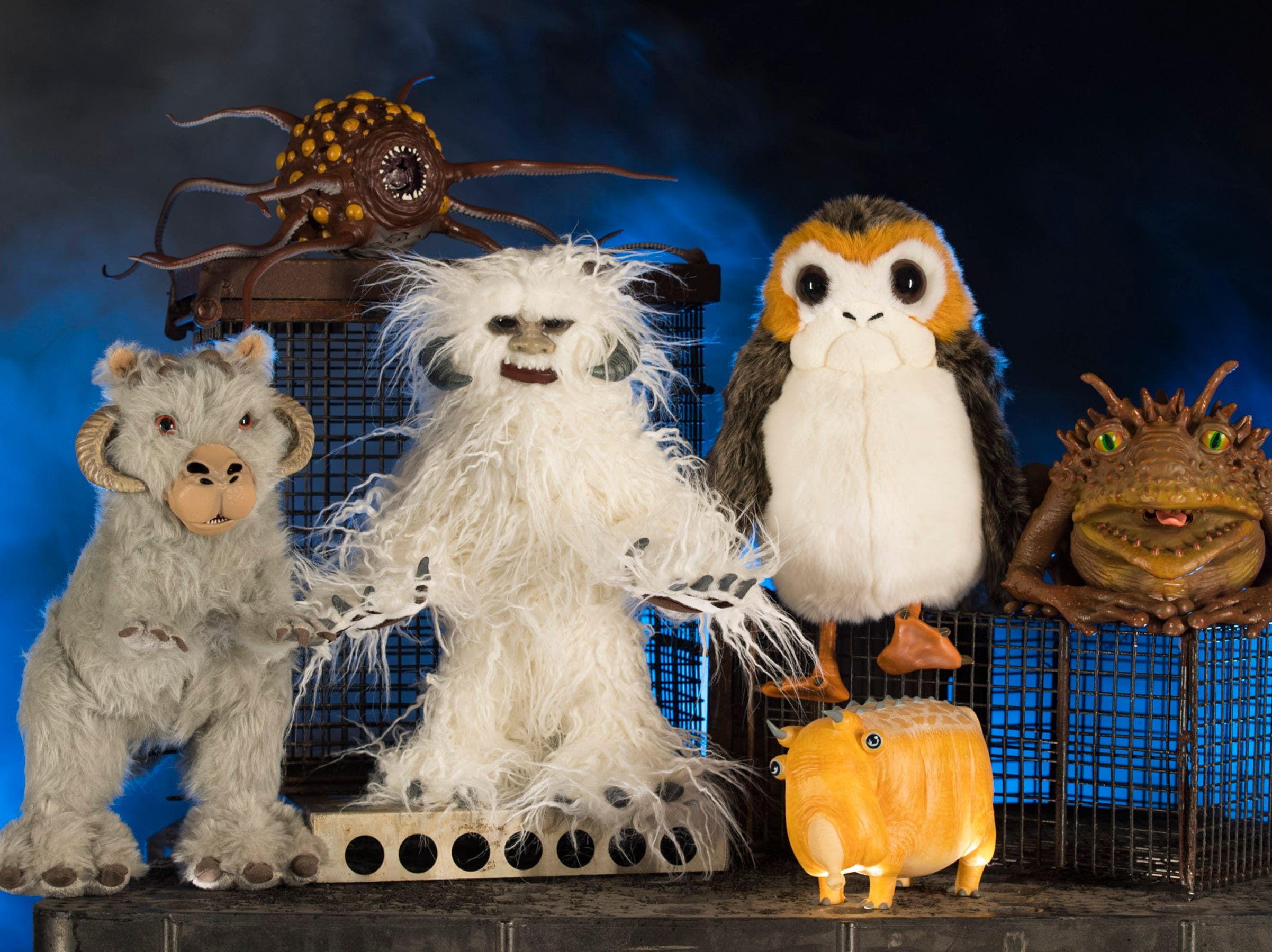 The Creature Stall in Star Wars: Galaxy's Edge will offer creatures of the galaxy, including porgs, tauntauns and more.