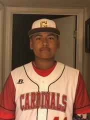Glendale baseball pitcher Richard Herrera