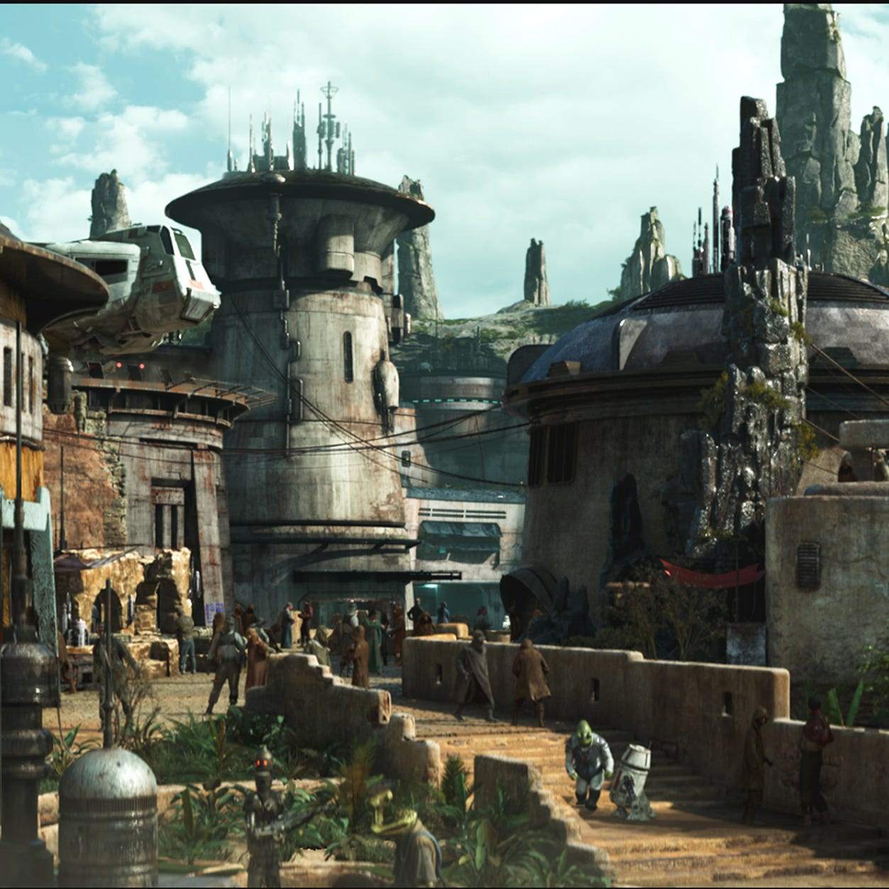 Want to see Star Wars: Galaxy's Edge at Disneyland? Get a reservation.