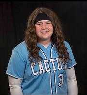 Cactus softball pitcher McKenna Feringa