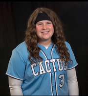 Cactus softball pitcher McKenna Feringa
