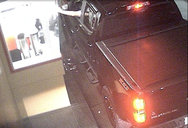 Suspect's 2016 or 2017 Chevrolet Colorado pick-up truck