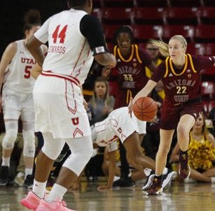 Courtney Ekmark found what she was looking for at ASU after transferring from UConn