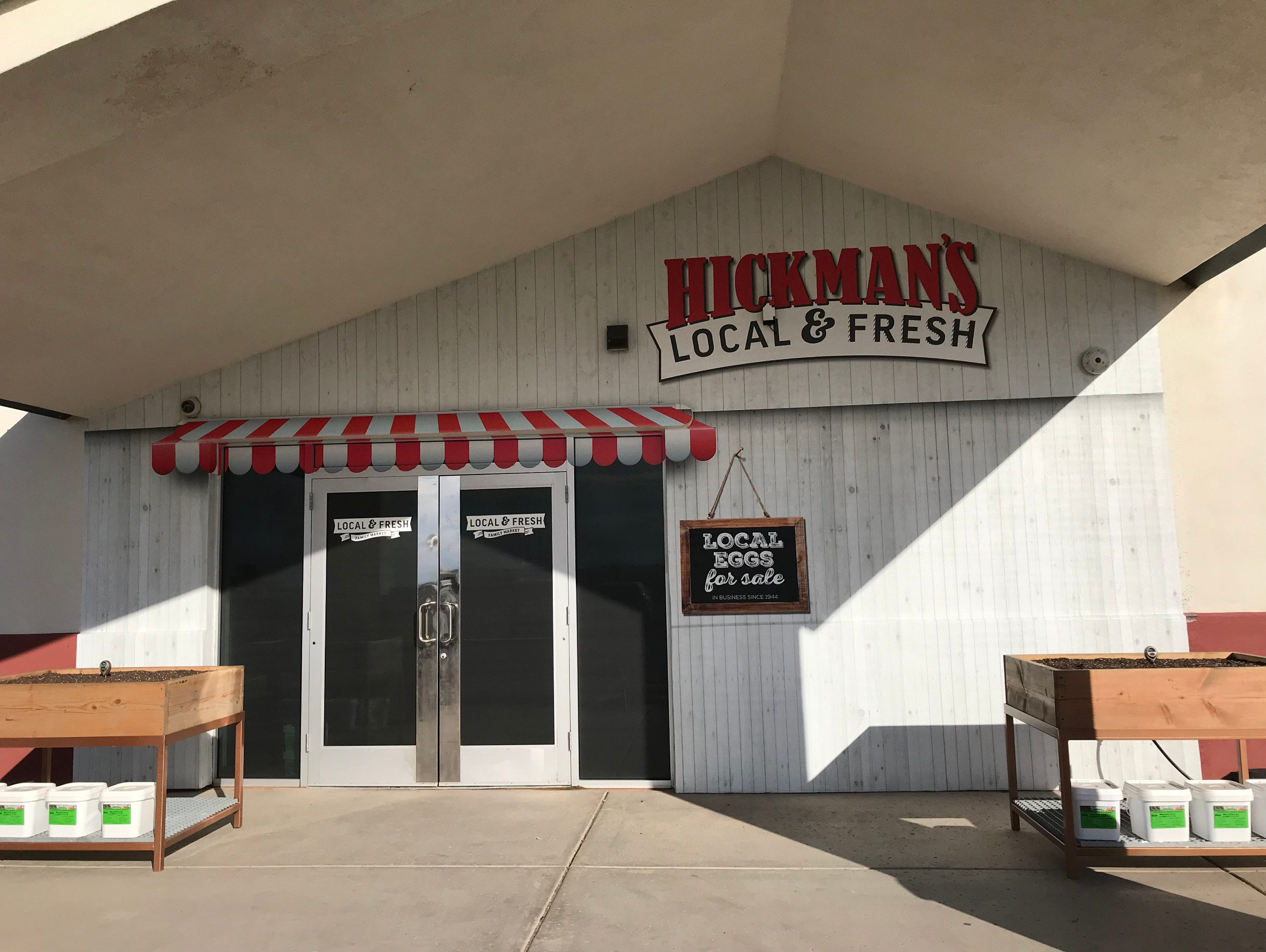 The Hickman's Family Farm store now sells items including milk, sour cream and local breakfast meats.