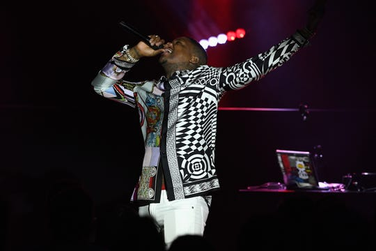 YG performs during Sir Lucian Grainge's 2019 Artist Showcase Presented by Citi at The Row on February 9, 2019 in Los Angeles.