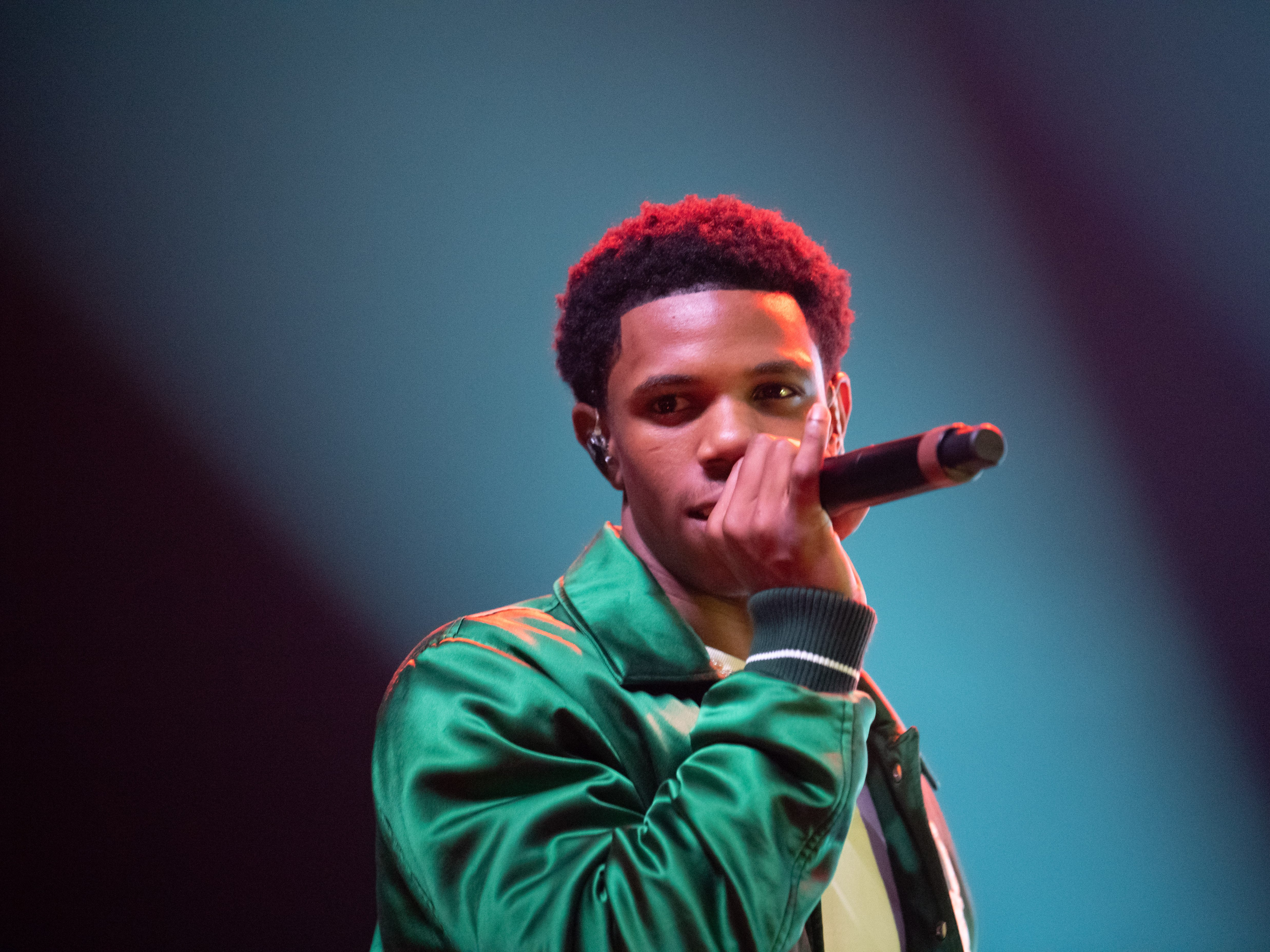 A Boogie Wit Da Hoodie performs at the 2018 Complex Con at Long Beach Convention Center on November 4, 2018.