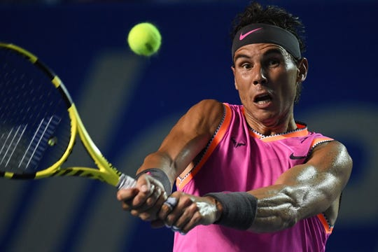 Al tenista español no le alcanzó su buen juego.