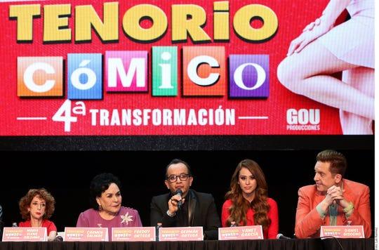 Yanet García se pondrá los hábitos en su debut en teatro en El Tenorio Cómico 4T, que se estrenará el 3 de mayo en la Ciudad de México.