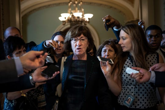 La senadora Susan Collins es una de las promotoras de la iniciativa.