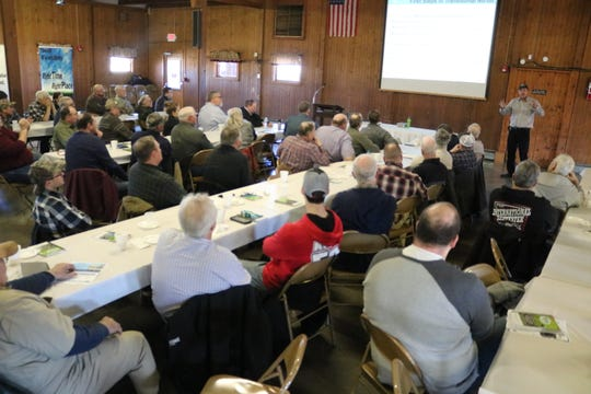 Dozens of local farmers attended a workshop on soil health organized by the Ottawa Soil and Water District on Thursday.