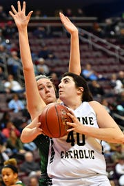 Delone Catholic senior Bradi Zumbrum was named to the all-state Class 3-A second team by the Pennsylvania sports writers.