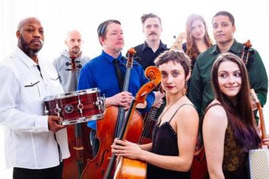 Portland Cello Project performs March 20 at the Capitol Theatre.