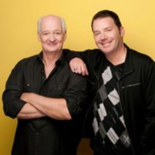 Colin Mochrie and Brad Sherwood will perform March 24 at the Appell Center for the Performing Arts.