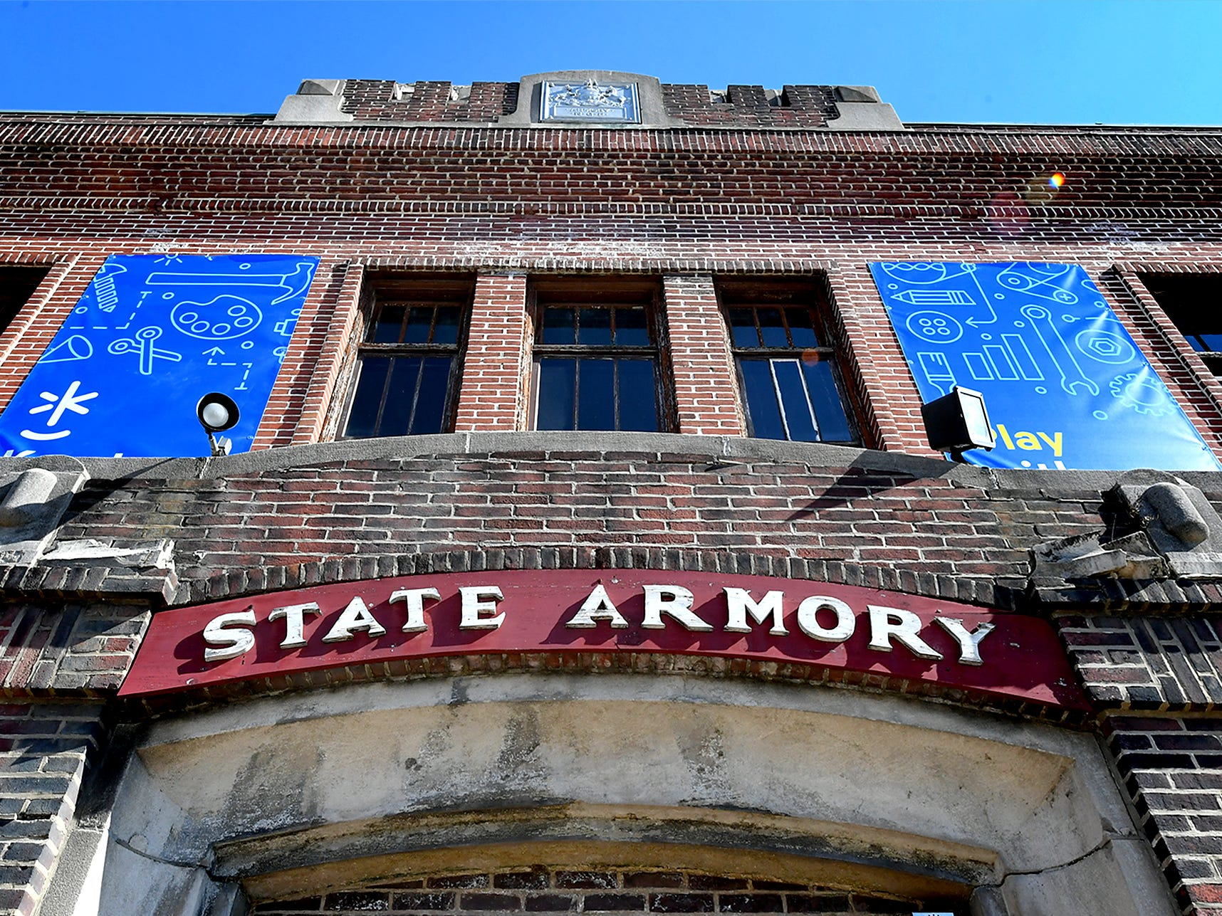 Keystone Kidspace founders announced a $6 million capital campaign during a press event at the York Armory Thursday, Feb. 28, 2019, to transform the building into an experiential learning center. Construction is slated to start this summer with an opening date of summer 2020. Bill Kalina photo