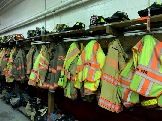 Jefferson Volunteer Fire Co. in Codorus Township has around 18 crew members right now.