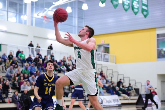 York College junior Jared Wagner is averaging close to 15 points, five rebounds and four assists this season.