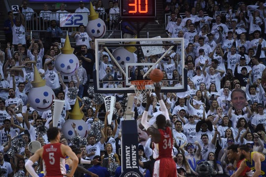 Thirteen of the 14 Nevada games this season at Lawlor Events Center have attracted 10,000 or more fans.