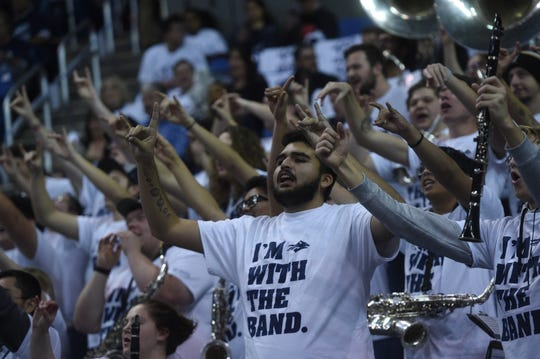 A scene from the Nevada-UNLV game on Feb. 27 at Lawlor Events Center.