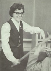 Sister Janice Nadeau as depicted in the 1974 McQuaid Jesuit High School yearbook.