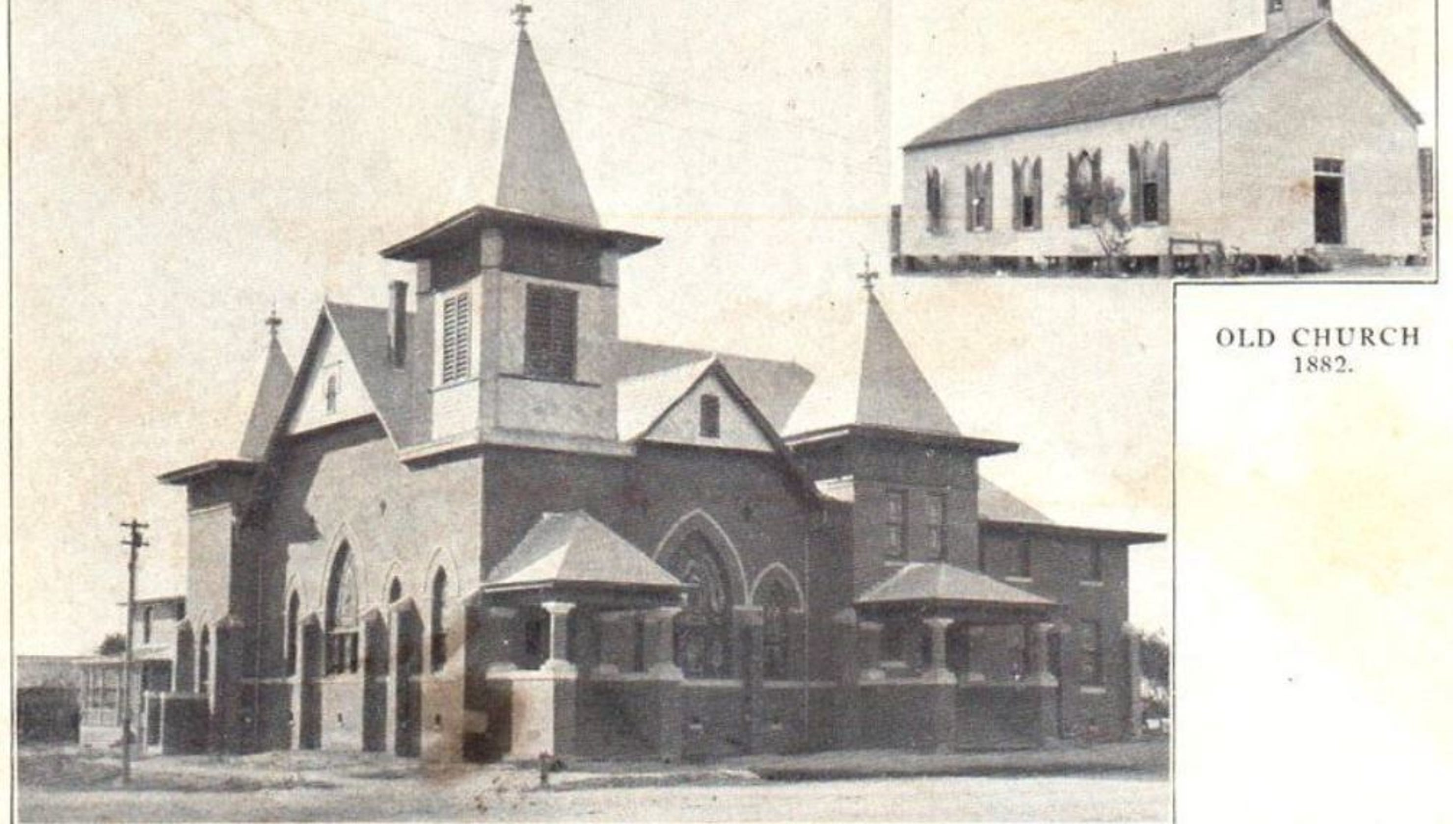 San Angelo's First Methodist established by the 'Fighting
