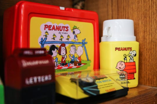 Peanuts collectibles for sale at Kaleidoscope Estate Sales and Consignments.