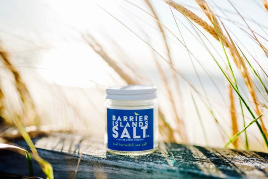 Barrier Islands Salt Co. sea salt is made from water collected off Cobb's Island, Virginia.