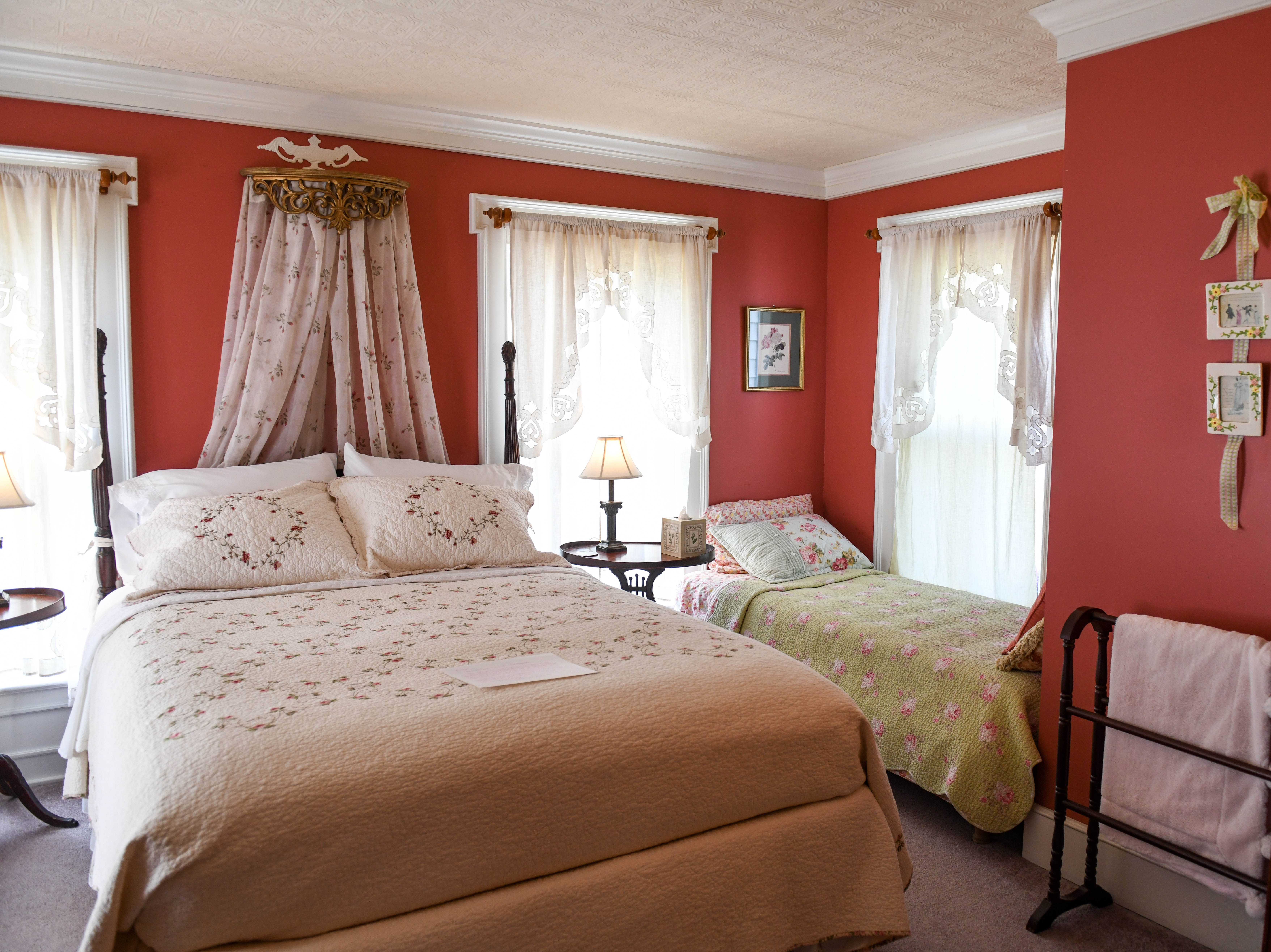 Rooms at Princess Anne Book Lovers Inn are each themed after a different author on Wednesday, Feb. 27, 2019.
