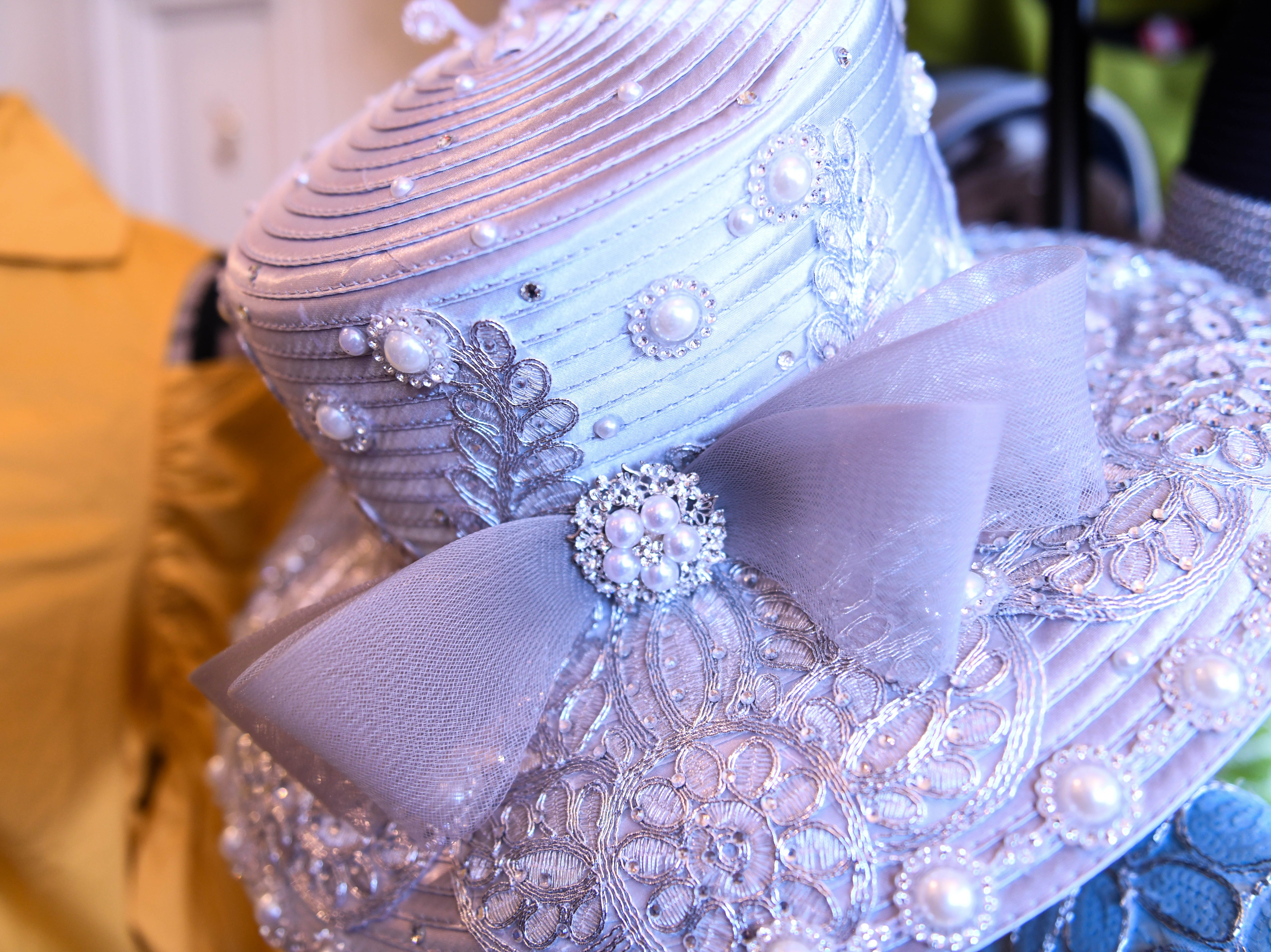 Clothes, hats and jewelry sit on display in the O Grace & Glory boutique in downtown Princess Anne on Tuesday, Feb. 26, 2019.