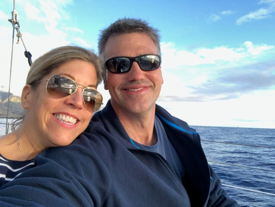 Anna and David Lee are the founders of Barrier Islands Salt Company in Cape Charles, Virginia.