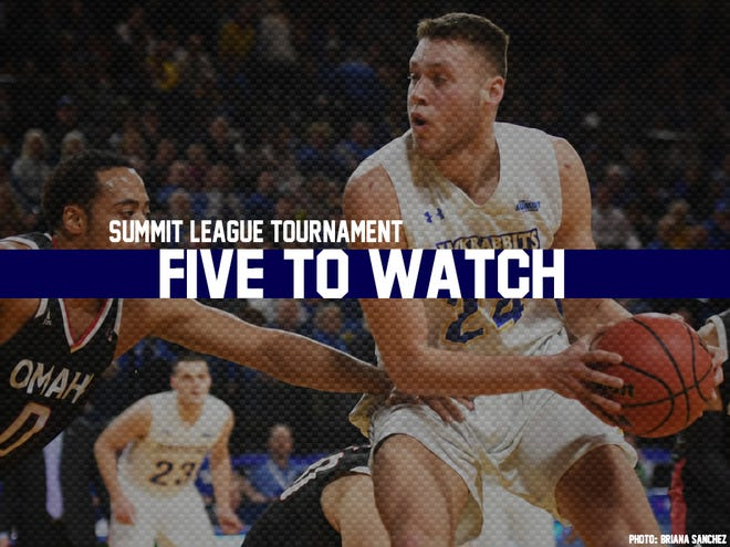 Five men's players to watch at the Summit League Tournament.
