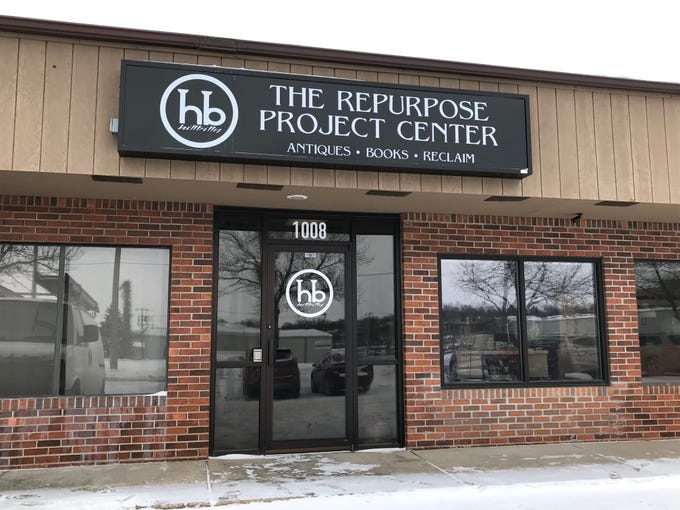An exterior view of the Repurpose Project Center at 1008 S. Cliff Ave. in Sioux Falls.