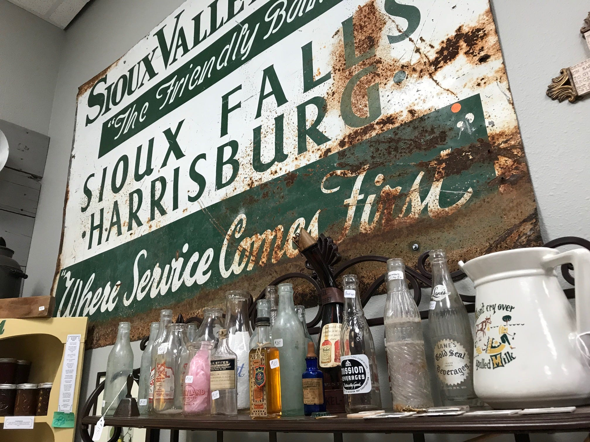 Sioux Falls-related objects for sale at the new Repurpose Project Center in Sioux Falls.