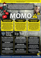 "National Online Safety, a company that instructs teachers how to talk about online safety to children, created a guide for parents about ""the Momo Challenge."" But these fears are unfounded."