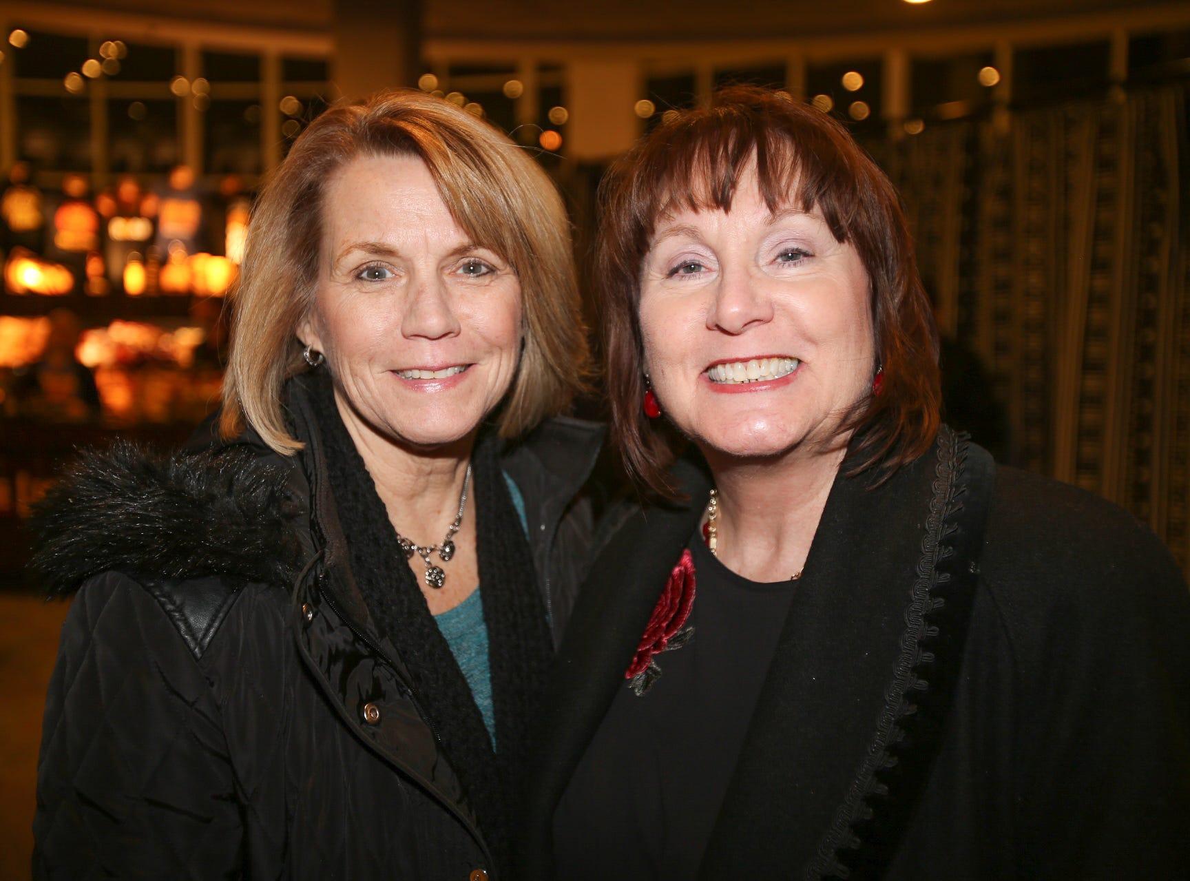 Jan McCarthy and Bonnie Johnson