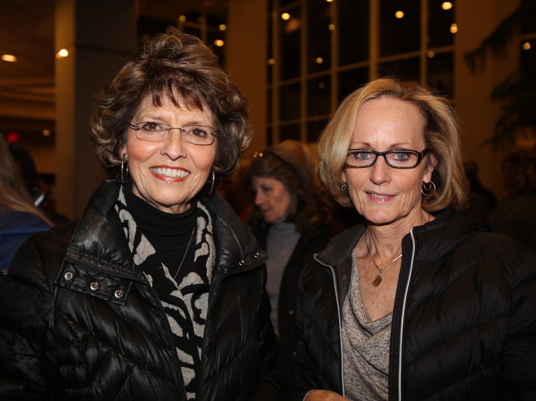 Noma Montgomery and Barb Farrar