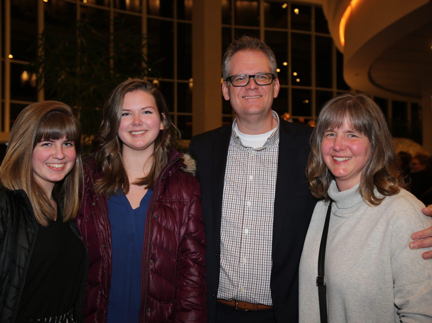 Emily, Madison, Jason, and Debbie Harper
