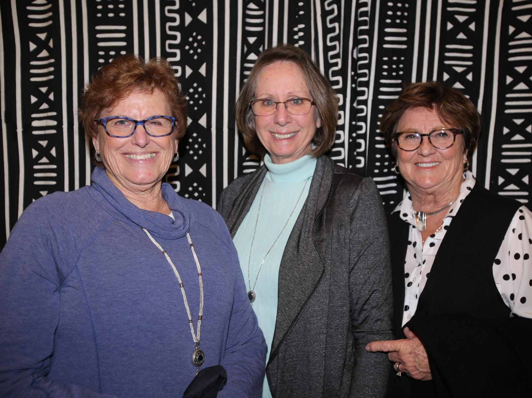 Donna Patterson, Ann Caraway, and Carol Stidham