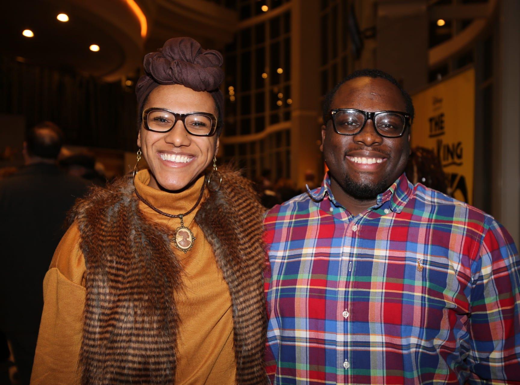 Christina Gardner and Tyree Davis IV