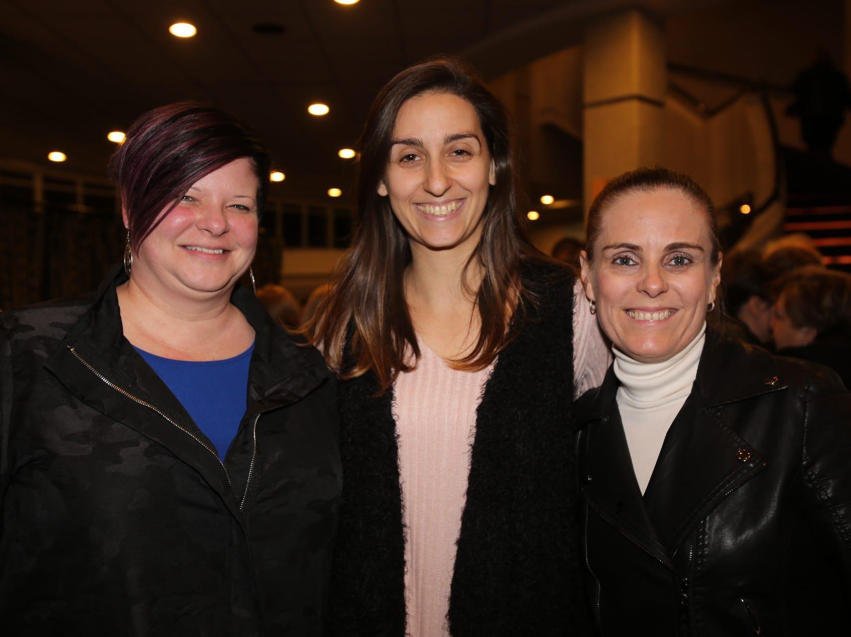 Shannon Derricks, Karen Rivatto, and Lisi Matsdorff