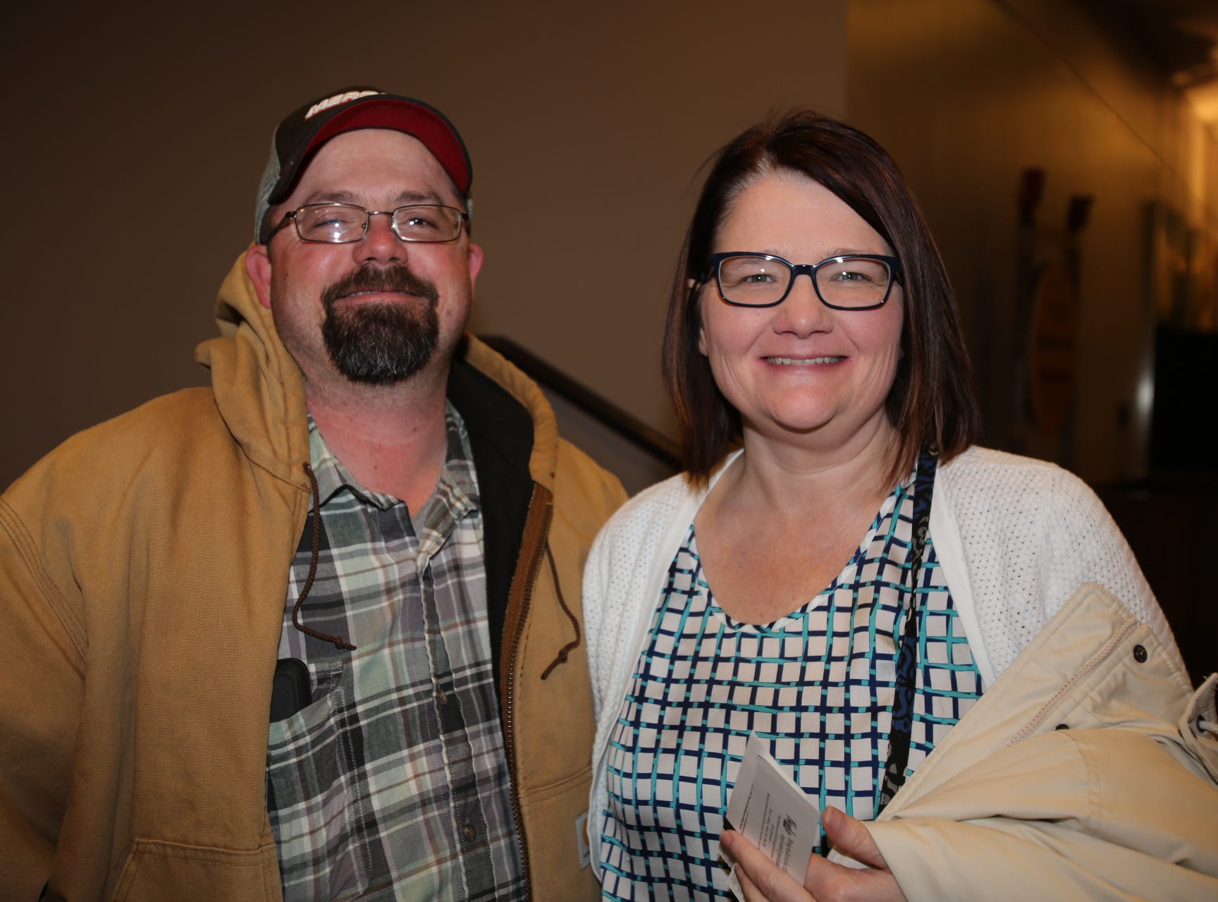Larry and  Tricia Warner