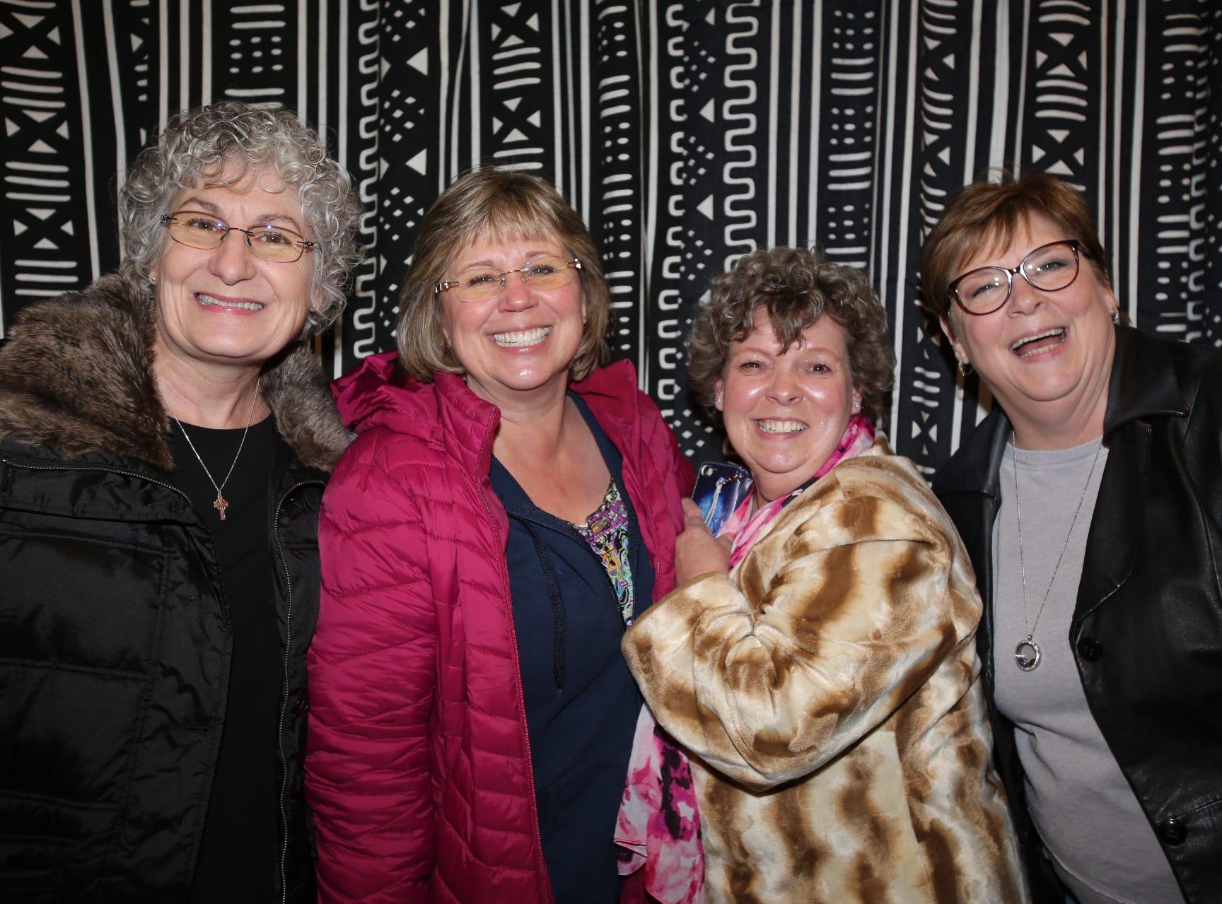 Julie Alessi, Gaylynn Crosby, Betty Rhodes, and Carol Williams