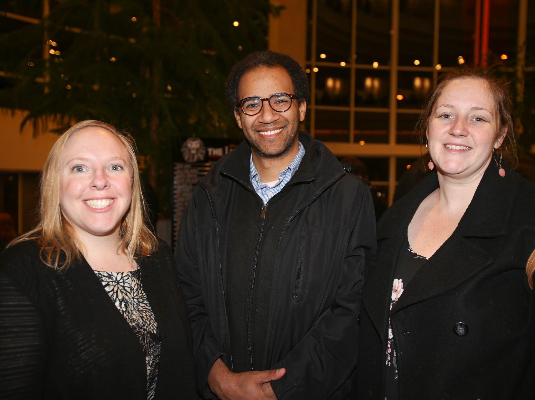 Heather Lewellen, Christopher Wilding, and Erin Dooley