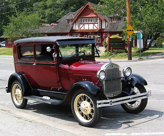 This is what a Ford Model A looks like.