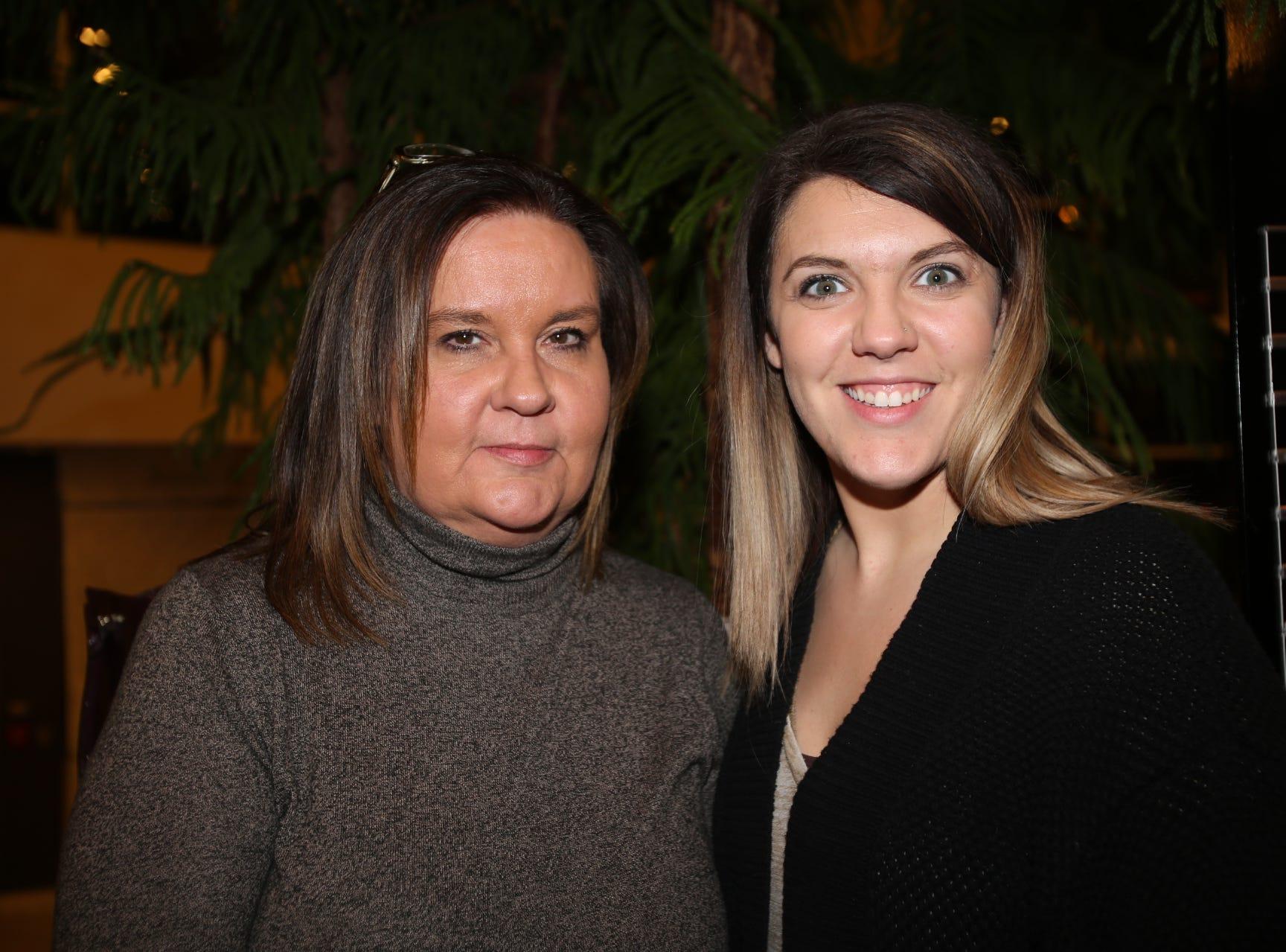 Kelsey Cochran and Cheri Hagler