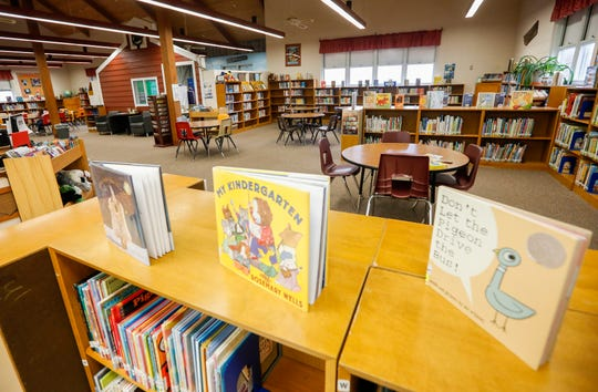 The library media center at Williams Elementary was built in 1990.