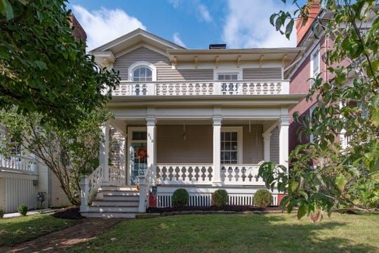 This four bedroom, two bathroom home is up for sale in Staunton's Newtown district for $350,000. The home dates back to the 1870s and features a large front porch and off-street parking.