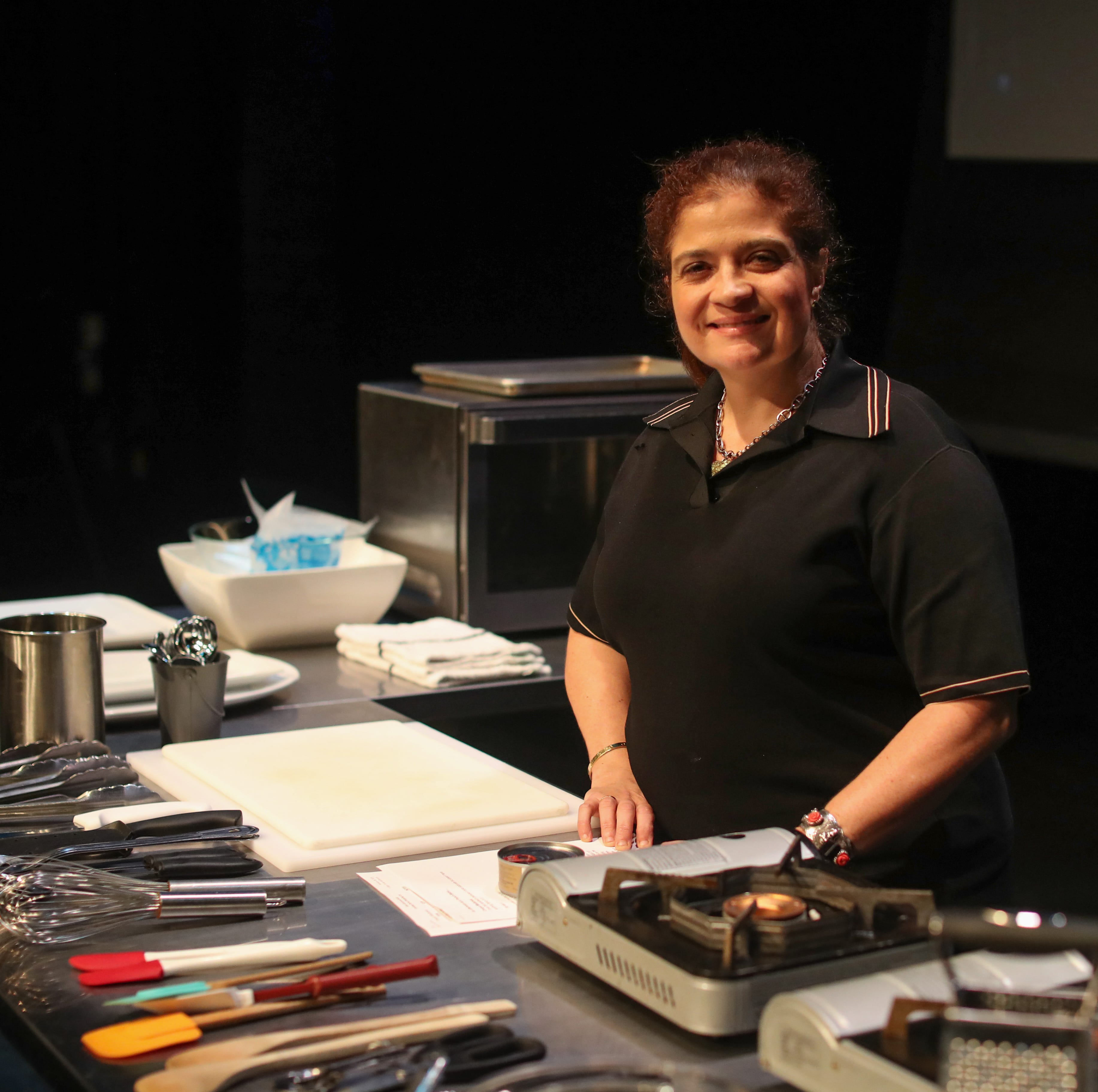 During Tallahassee visit, Iron Chef Alex Guarnaschelli talks local ingredients, home cooking